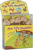Five Silly Monkeys [With Hand Puppet and 3-D Monkey Faces]