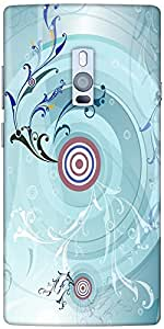 Snoogg Music Pull 2459 Designer Protective Back Case Cover For One Plus Two