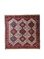 RugSense Alfombra Persian Yalameh Rojo/Azul/Beige 203 x 196 cm