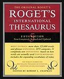 Roget International Thesaurus Index 5E (Roget's International Thesaurus Indexed) (0062700146) by Chapman, Robert L.
