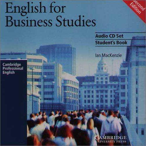 English for Business Studies Audio CD Set