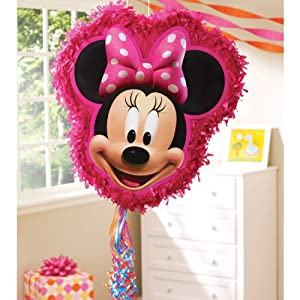 Minnie Mouse Pull Ribbon String Pinata