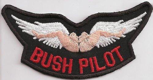 bush-pilot-pussy-diving-wingman-no-angels-wing-rocker-biker-patch-aufnaher