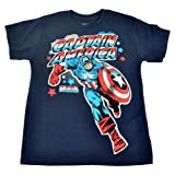Official Disney Marvel Comics Captain America Florida Youth Tshirt Large 12-14