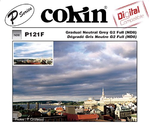 Cokin P121F Grad Grey G2 FUL(ND8) Square Filter 