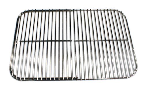 Portable Kitchen Replacement Hinged Cooking Grid and Charcoal Grate
