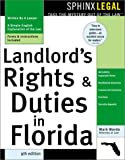 """Landlord's Rights and Duties in Florida, 9E"" (Landlords' Rights & Duties in Florida)"