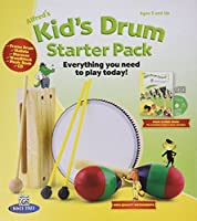 Alfred's Kid's Drum Course, Complete Starter Pack (Drum, Maracas, Woodblock, Mallets, Lesson Book, Audio CD)