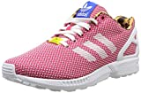 Adidas, ZX Flux Weave W, Scarpe sportive, Donna, Multicolore (FTWWHT/VIVBER/Blue), 40