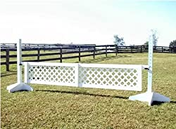 Lattice Gate Wood Horse Jumps 12ft - 3 Heights