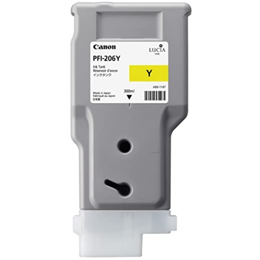 Canon Imageprograf IPF 6400 SE (PFI-206 Y / 5306 B 001) - original - Ink cartridge yellow - 300ml