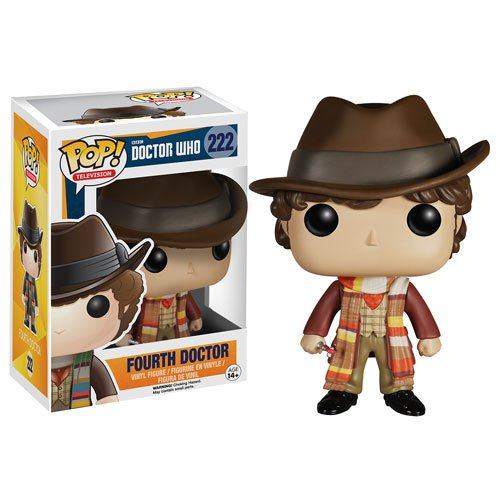 Doctor Who 4th Doctor Pop! Vinyl Figure - 1