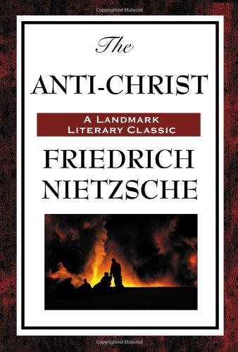The Antichrist by Friedrich Wilhelm Nietzsche 2008 Paperback
