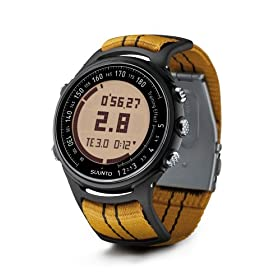 Suunto t3 Heart Rate Monitor and Fitness Trainer Watch (Black with Orange Strap)