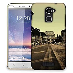 Snoogg Balck And White Image Designer Protective Phone Back Case Cover For Coolpad Note 3 Lite