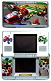 Mario Kart Video Game Vinyl Decal Skin Protector Cover for Nintendo DS