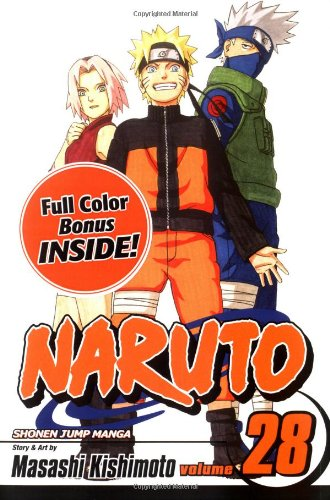 NARUTO -ナルト- コミック28巻 (英語版)