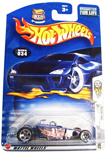 Hot Wheels Collectible Diecast Car: 2003 First Editions 22/42 Tire Fryer 34