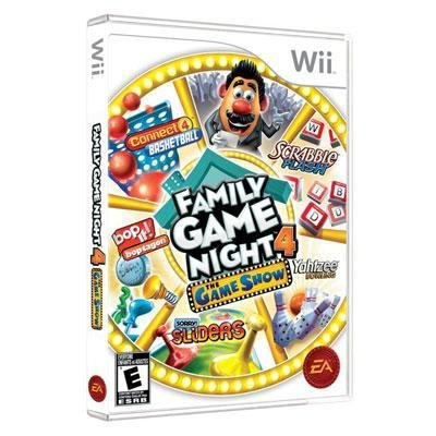 Quality H Family Game Night 4 Wii By Electronic Arts