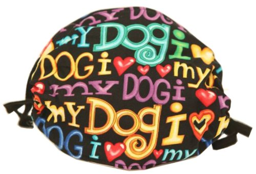 Access I Love My Dog Style Face Mask - Comfortable, Reusable Face Mask - Dust Mask - Filters Dust, Dander, Pollen, Allergens, & Flu Germs - Ideal For Dog Grooming online