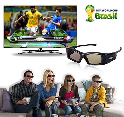3X IR&BT 3D Aktiv Shutter Brille für Toshiba 40TL868 40TL868B 46TL868B 40TL963G 46TL963G 46TL966 46TL966G 40TL933 40TL933G 46TL933 46TL933G 40TL868G TL933 TL938G Sharp 3D TV