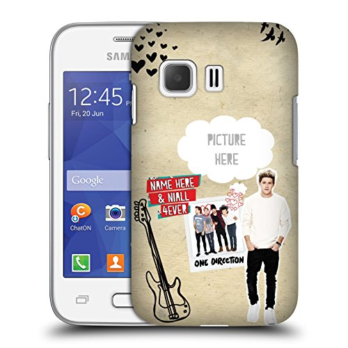 Cover Personalizzata Personale One Direction 1D Niall 4Ever I Ship Us Hard Case Per Samsung Galaxy Young 2