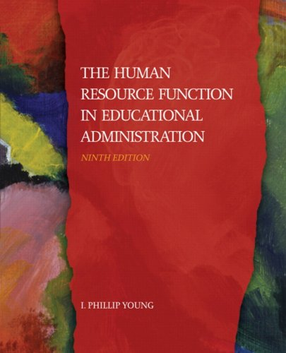 The Human Resource Function in Educational...