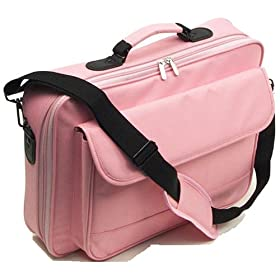 17″ Pink Laptop Computer Case Notebook Bag