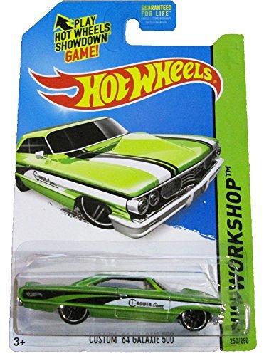 2014 Hot Wheels Hw Workshop Custom '64 Galaxie 500 - Green [Ships in a Box!] - 1