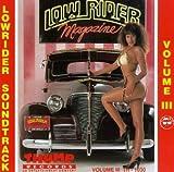 echange, troc Various Artists - Lowrider Soundtrack, Vol. 3