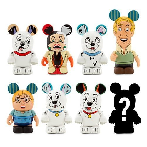 Disney Vinylmation 101 Dalmatians Series Figure - 3'' Unopened Box - Blind-boxed- NEW