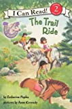 The Trail Ride (Turtleback School & Library Binding Edition) (Pony Scouts: I Can Read!, Level 2)
