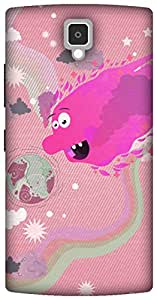 The Racoon Lean printed designer hard back mobile phone case cover for Lenovo A2010. (Sun Monste)