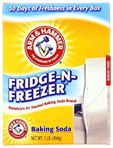 Arm & Hammer Baking Soda Fridge Freezer Package, 16-Ounce Boxes (Pack of 12)