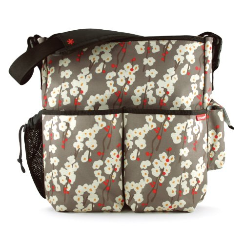 Skip Hop Duo Deluxe Diaper Bag, Cherry Bloom