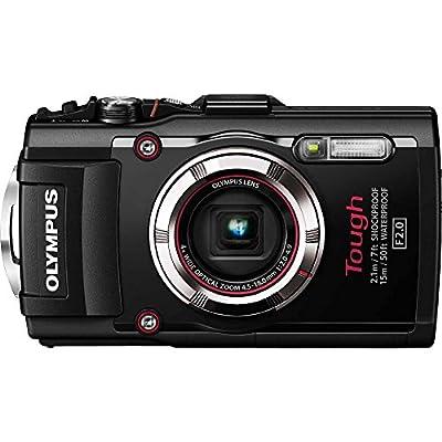 Olympus TG-3 Waterproof 16 MP Digital Camera (Black)