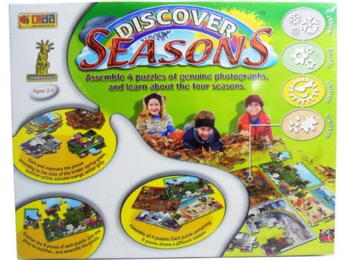 Discover Seasons 4 Seasons 8 Pc Each Puzzles - 1