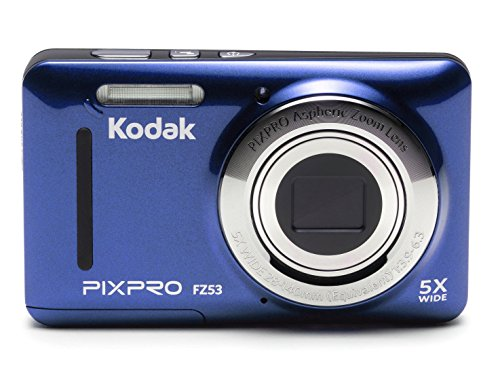 Kodak FZ53-BL Point and Shoot Digital Camera
