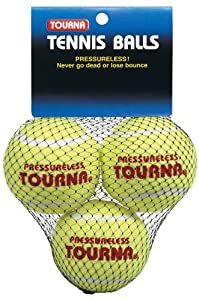 Buy Pressureless Tennis Balls - 3 Pack by Unique Sports by Gamma