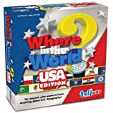 Talicor US Version Where in The World Board Game
