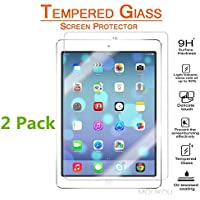 iPad Air 2 Tempered Glass Screen Protector, 2 Pack