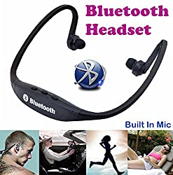 Gadget Hero's Sports Wireless Bluetooth Headset Headphone Earphone For Apple iPhone Samsung & Other Mobile Phone PC Tablet