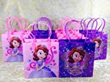 12PC SOFIA THE FIRST PRINCESS GOODIE BAGS PARTY FAVOR GIFT BAGS