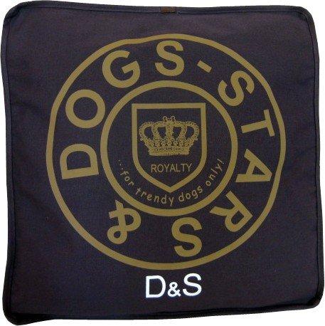Bild: Hundebett Milano  Schlafplatz  kuschelig weich und sehr robust  60x60x10cm  Dogs Stars