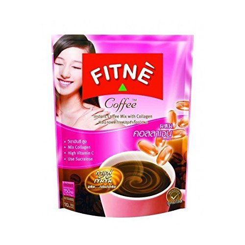 fitne-instant-coffee-collagen-anti-aging-low-sugar-15g-x10pcs-by-gole-hot-items