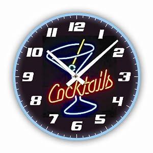 Orologio Da Parete Design Cocktail Orologio Per Cucina O Salotto Nuovo Casa E Cucina