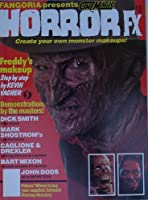 Fangoria Presents Cinemagic Horror FX #1 1989 , Freddy Kruger , Monster Makeup , Dick Smith , Mark Shostrom , John Dods ,Caglioney & Drexler