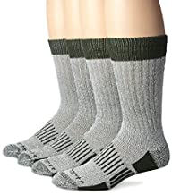 Carhartt Men's Four-Pack All Season Wool Work Socks
