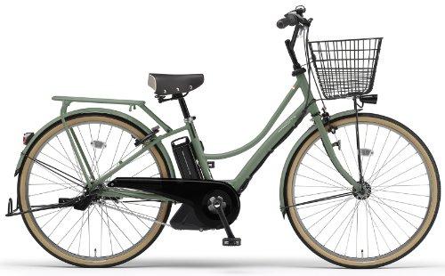 YAMAHA(ヤマハ) PAS Ami 26インチ 電動自転車 2014年モデル [8.7Ahバッテリー、内装3段変速、オートライト機能、急速充電器付き] グリーンラテ PM26A