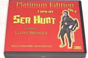 SEA HUNT- 7 DVD BOXED SET- 28 EPISODES-VOLUME THREE W/ INTERACTIVE DVD MENUS